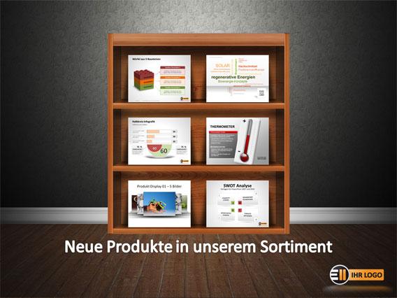 Neue Produkte im Regal